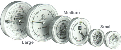 Various Analog Position Indicators